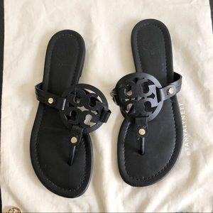 Tory Burch Miller Black Sandal